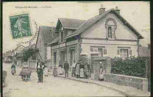 Ville de CHAPELLEROYALE, carte postale ancienne