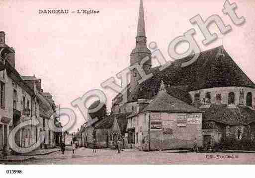Ville de DANGEAU, carte postale ancienne