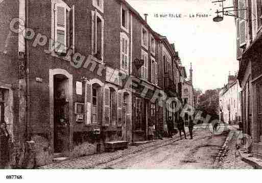 Ville de ISSURTILLE, carte postale ancienne