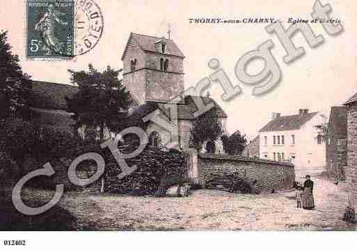 Ville de THOREYSOUSCHARNY, carte postale ancienne