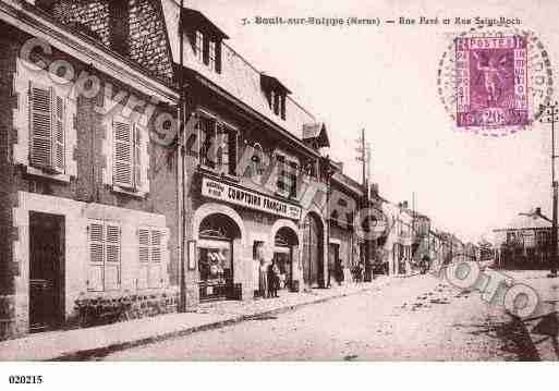 Ville de BOULTSURSUIPPE, carte postale ancienne