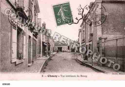 Ville de CHOUZYSURCISSE, carte postale ancienne