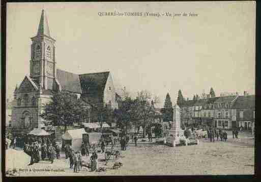 Villes et villages en cartes postales anciennes .. - Page 22 Photos-carte-quarre-les-tombes-yonne-PH065156-F