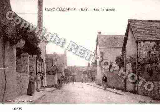 Ville de SAINTCLAUDEDEDIRAY, carte postale ancienne
