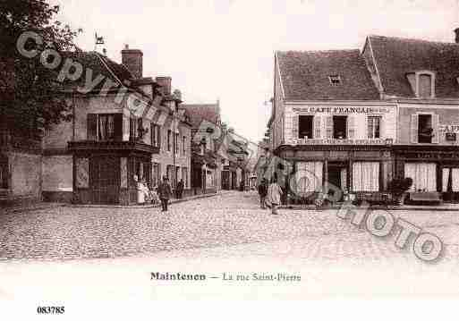 Ville de MAINTENON, carte postale ancienne