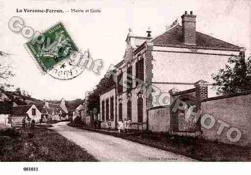Ville de CHAPELLEDUNOYER, carte postale ancienne