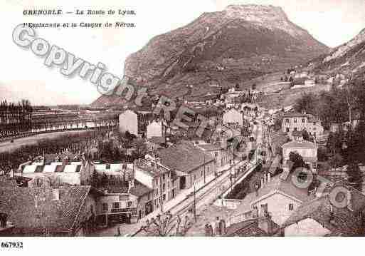 Ville de grenoble ph003058 b photo partir d 39 une carte - Bibliotheque jardin de ville grenoble ...