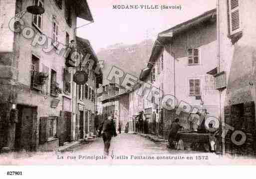 Villes et villages en cartes postales anciennes .. - Page 3 Photos-carte-modane-savoie-PH054758-A