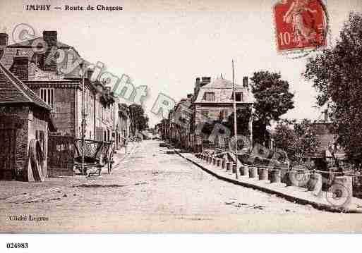 Ville de IMPHY, carte postale ancienne