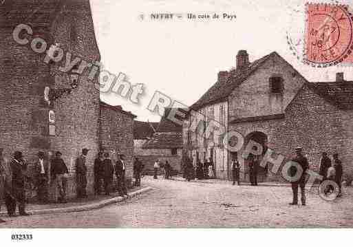 Ville de NITRY, carte postale ancienne