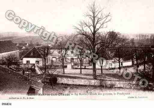 Ville de SAINTMARTINSUROREUSE, carte postale ancienne