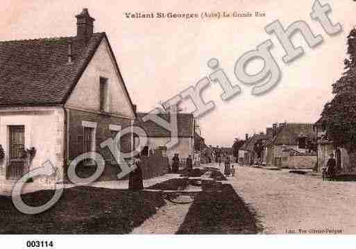 Ville de VALLANTSAINTGEORGES, carte postale ancienne