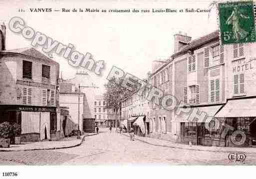Ville de vanves ph066559 c clich s dit s d 39 une carte for Piscine vanves
