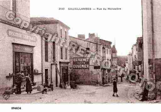 Ville de SAUXILLANGES, carte postale ancienne