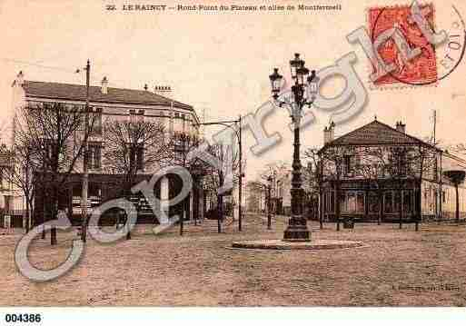 Ville de RAINCY(LE), carte postale ancienne