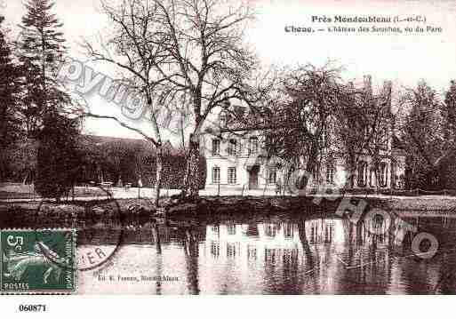 Ville de CHOUE, carte postale ancienne