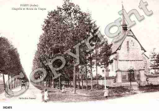 Ville de PINEY, carte postale ancienne