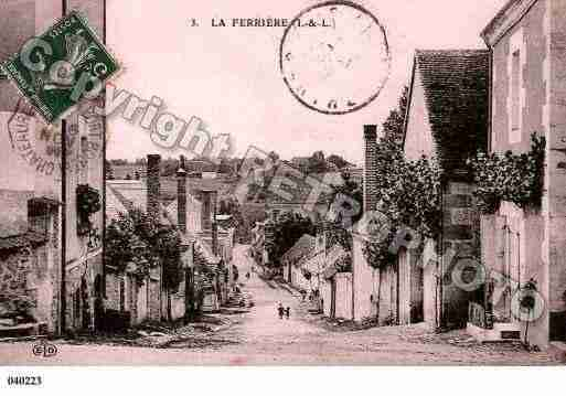 Ville de FERRIERE(LA), carte postale ancienne