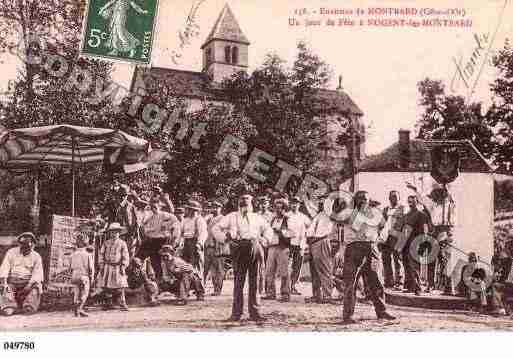 Ville de NOGENTLESMONTBARD, carte postale ancienne