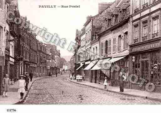 Carte De La Ville De Pavilly En Seine