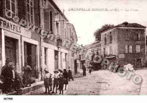 Ville de LACAPELLEBIRON, carte postale ancienne