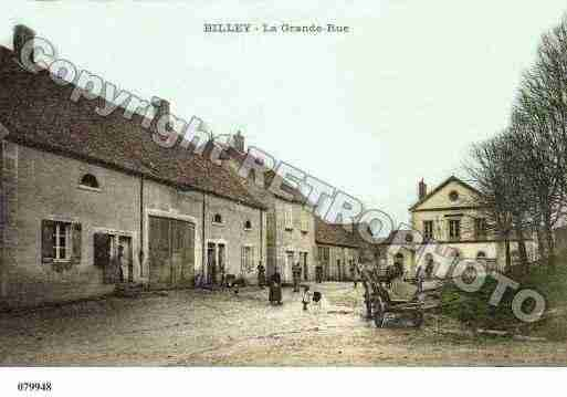 Ville de BILLEY, carte postale ancienne