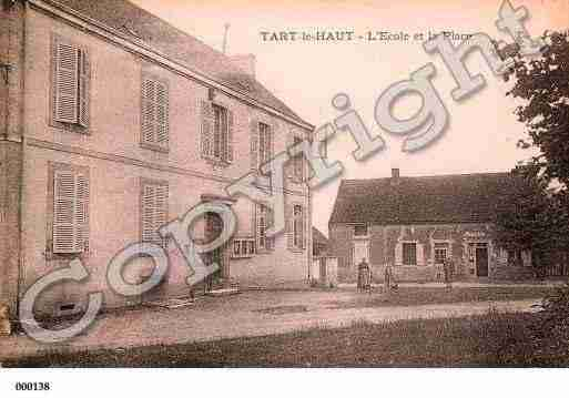Ville de TARTLEHAUT, carte postale ancienne