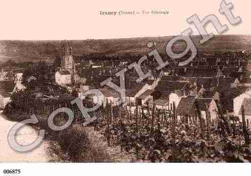 Ville de IRANCY, carte postale ancienne