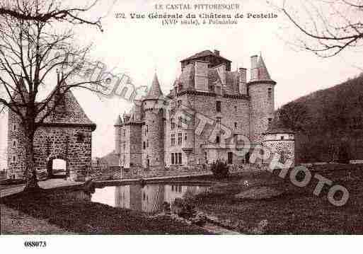 Ville de POLMINHAC, carte postale ancienne