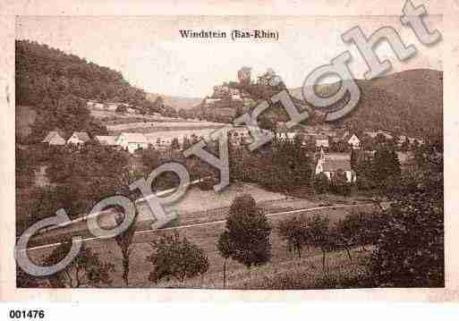 Ville de WINDSTEIN, carte postale ancienne