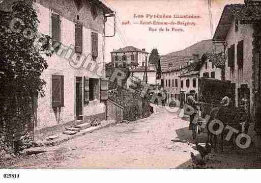 Ville de SAINTETIENNEDEBAIGORRY, carte postale ancienne