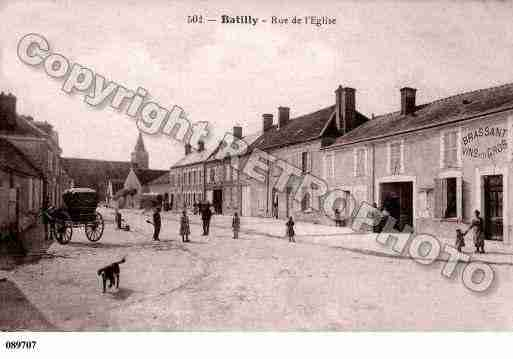 Ville de BATILLY, carte postale ancienne