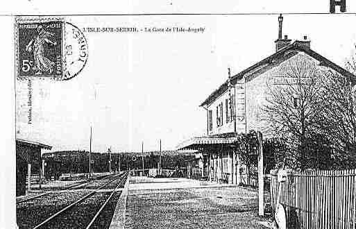 Ville de ISLESSEREIN(L'), carte postale ancienne
