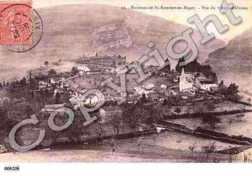 Villes et villages en cartes postales anciennes .. - Page 25 Photos-carte-oncieu-ain-PH013568-A
