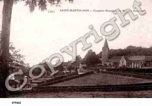Ville de SAINTMARTINDON, carte postale ancienne