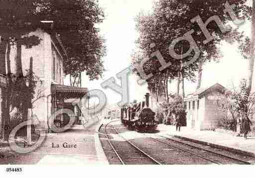 Ville de THIELSURACOLIN, carte postale ancienne