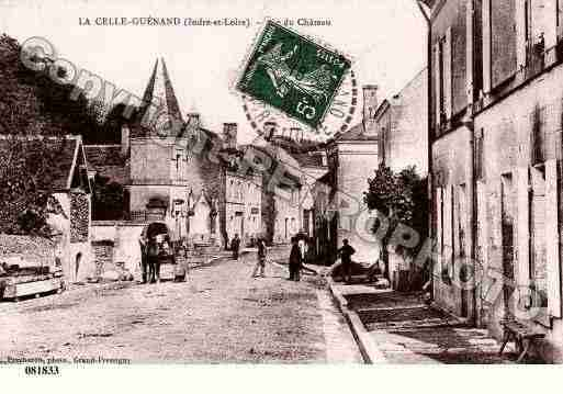 Ville de CELLEGUENAND(LA), carte postale ancienne