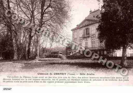 Ville de CHENEY, carte postale ancienne