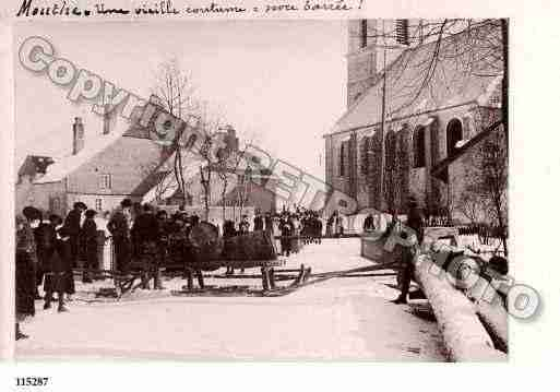 Ville de MOUTHE, carte postale ancienne