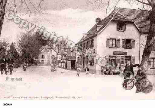 Ville de ALTENSTADT, carte postale ancienne