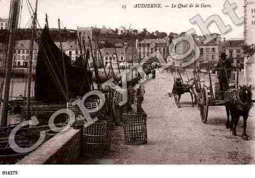 Ville de AUDIERNE, carte postale ancienne