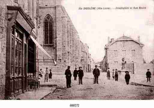 Ville de SAINTESIGOLENE, carte postale ancienne