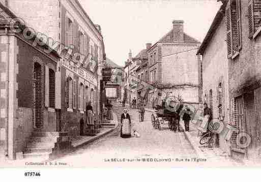 Ville de SELLESURLEBIED(LA), carte postale ancienne