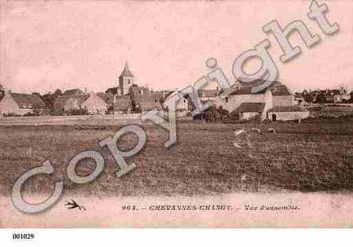 Ville de CHEVANNESCHANGY, carte postale ancienne