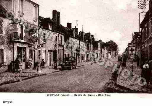 Ville de CHEVILLY, carte postale ancienne