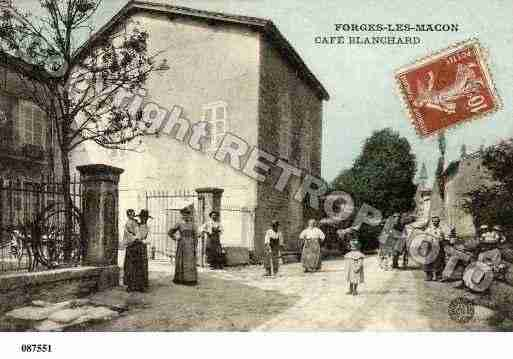 Ville de FARGESLESMACON, carte postale ancienne