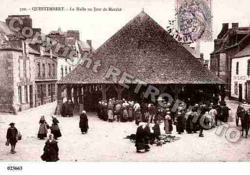 Ville de QUESTEMBERT, carte postale ancienne