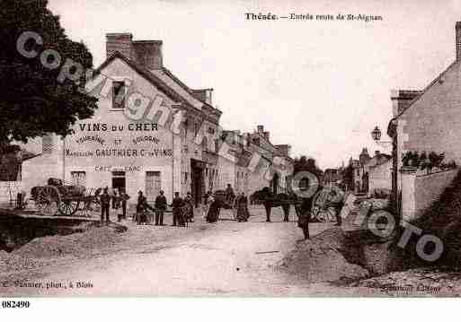 Ville de THESEE, carte postale ancienne