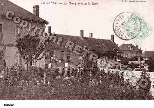 Ville de CELLEENMORVAN(LA), carte postale ancienne