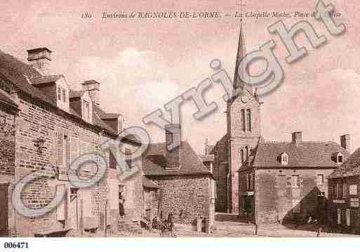 Ville de CHAPELLED'ANDAINE(LA), carte postale ancienne